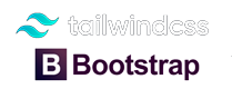 tailwind & bootstrap